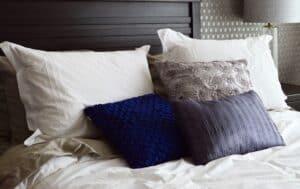 Puder til sengegavle