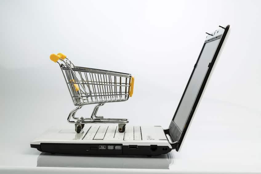 webshop indkøbsvogn